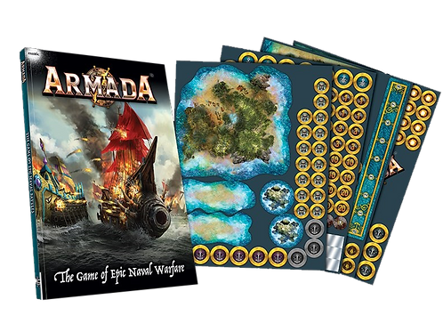 Kings of War Armada Rulebook & Counters