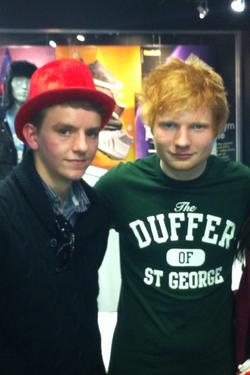Toni & Ed Sheeran