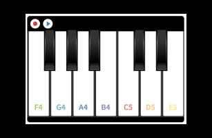 Piano component