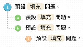編輯模式改進8 - 題號和分數