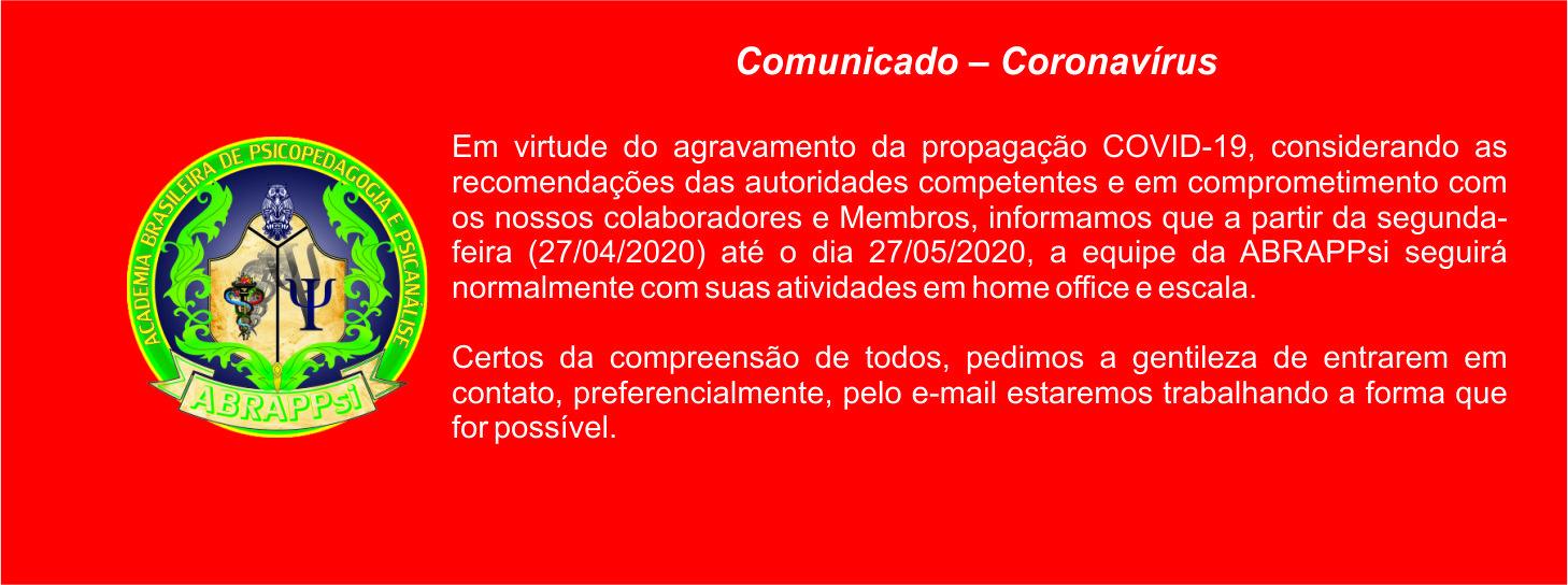 Comunicado Covid-19 site