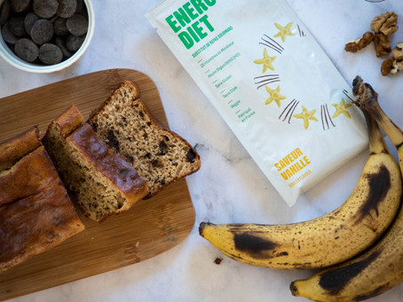 Banana Bread - Energy Diet sucré