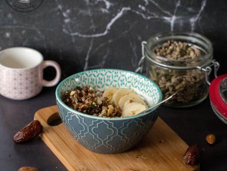 Rawnola - Granola cru - Energy Diet sucré