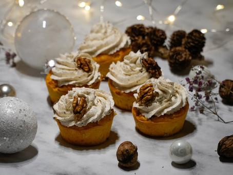 Muffins de potimarron et gruyère - Mousse de Noix