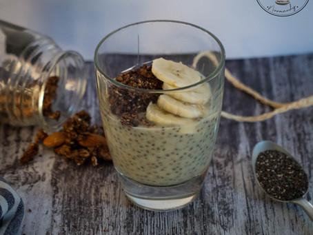 Pudding de chia - Energy Diet sucré