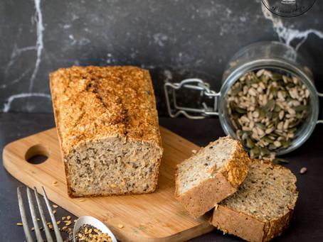 Pain sans gluten aux graines - Riche en Oméga 3