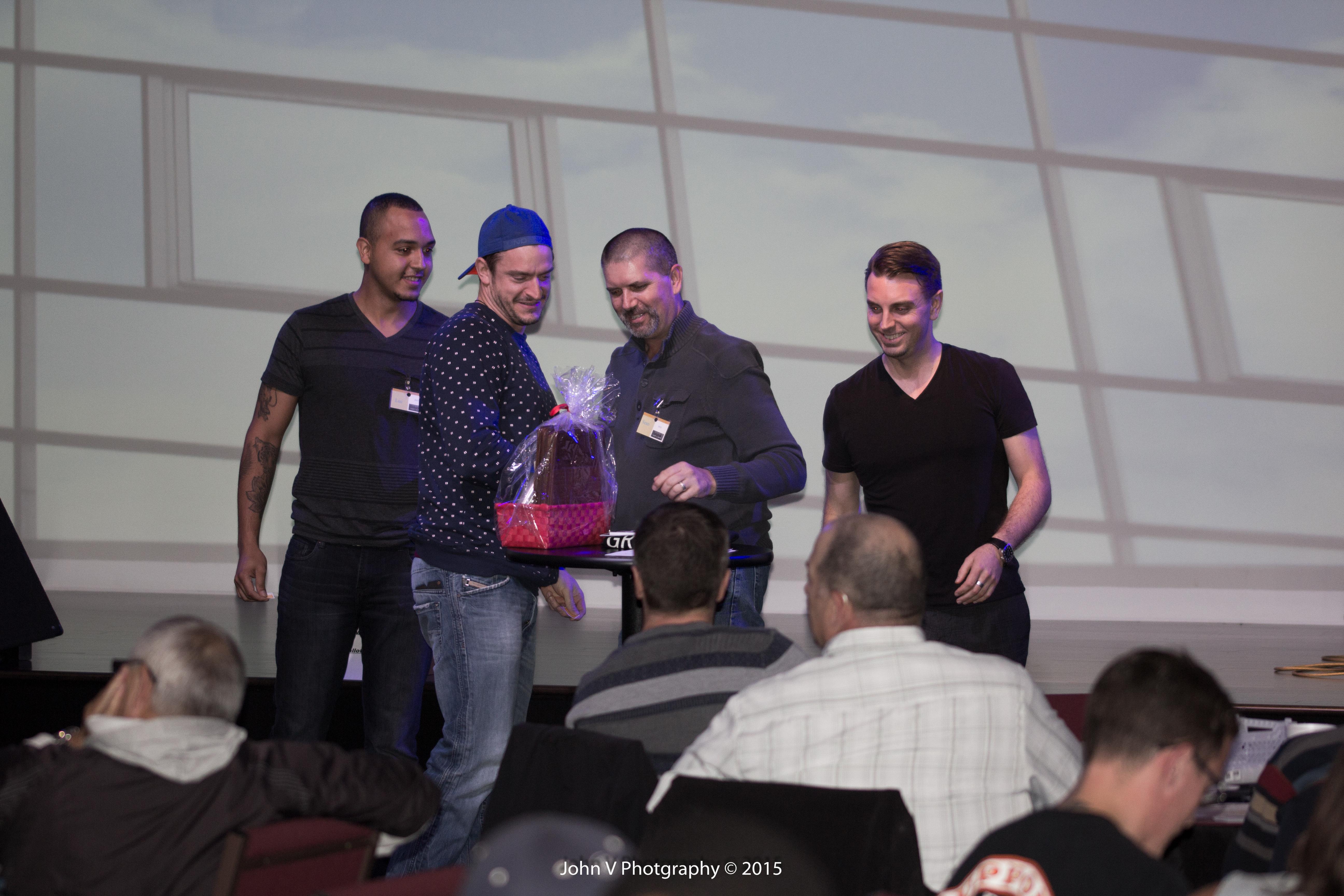 1st door prize winner