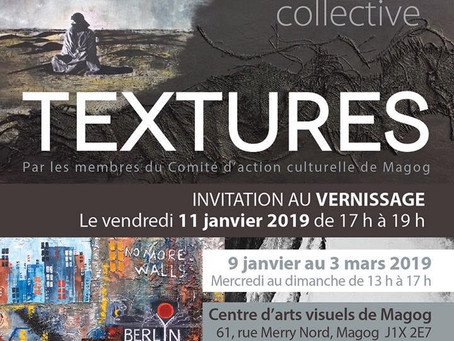 Exposition collective Textures!!!