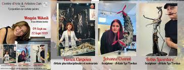 Exposition à Montréal au CAAZ, comme artistes invités!!!