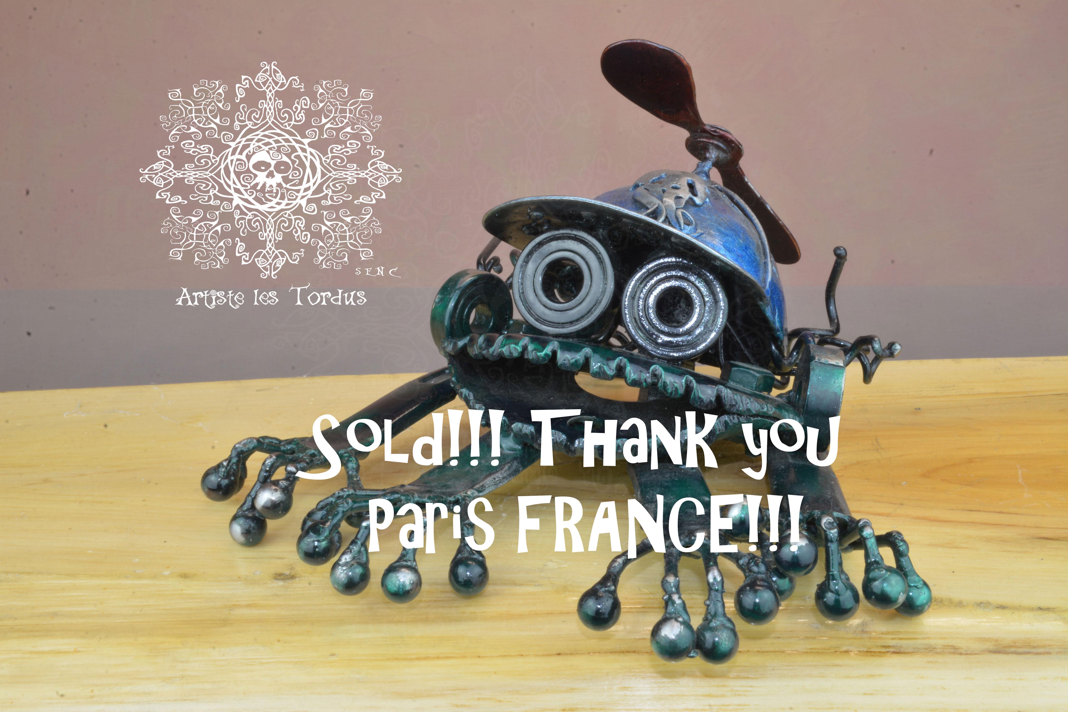 Frogbot, vendu, France