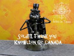 Psss Robot, vendu, Canada