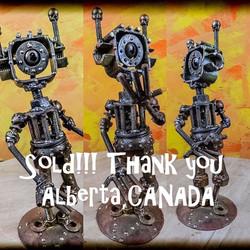 Robot cyclope articulé, vendu, Canada