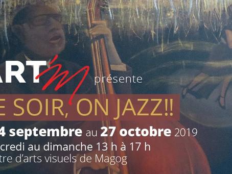 Exposition collective Ce soir on Jazz!!