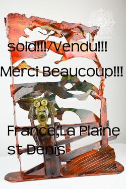 Mr. Munch, vendu, France