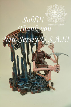 Le Geologue, vendu, New Jersey