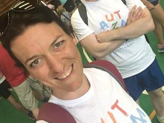 2 x fél maraton az Autizmus Alapítványért