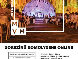 MVM Zenergia támogatói koncert