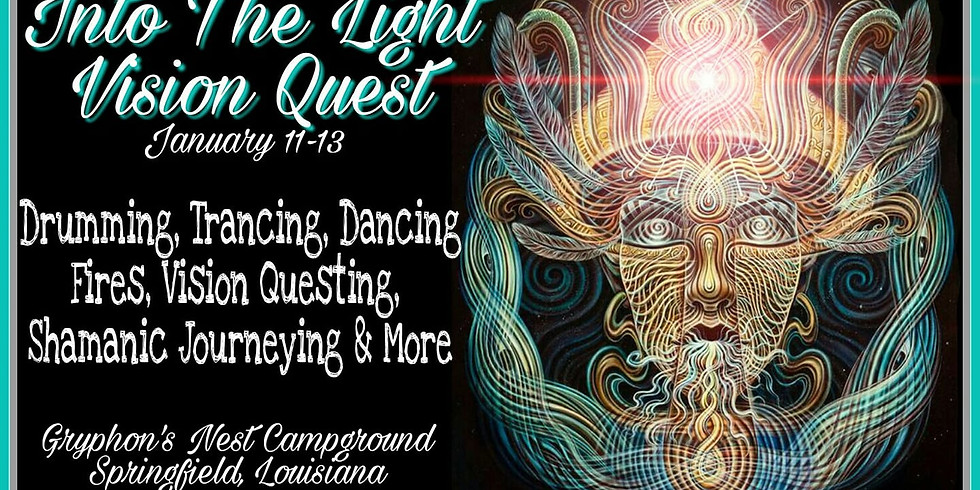 (Members Only) Into The Light Vision Quest Weekend at Gryphon's Nest! (1)