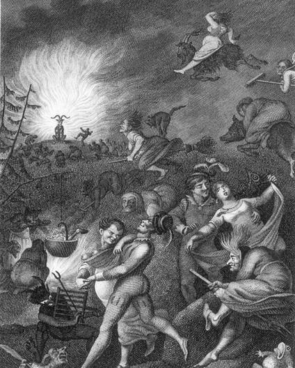 A depiction of the horrors of Walpurgisnacht in Germany