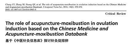 Studie3. Wirkung der TCM-Wärmetherapie a