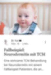 Neurodermtis Behandlung TCM