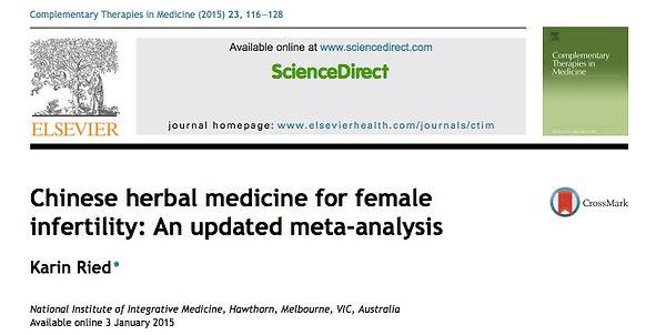 Kinderwunsch Studie 2- Metaanalyse-Studie über die chinesische Kräutertherapie auf unerfüllten Kinderwunsch.jpg