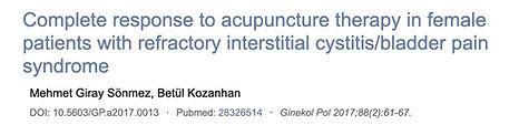 4. Wirkung der Akupunktur auf resistente