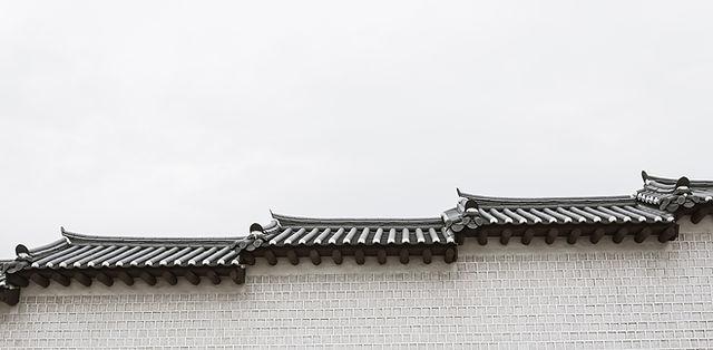 klassische Häuser in Südkorea