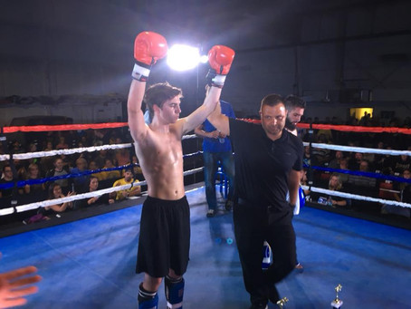 Kickboxing win for Kevin