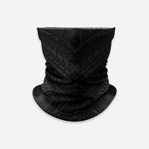 NECK GAITER - TRIBAL SOLID / BLKBLK