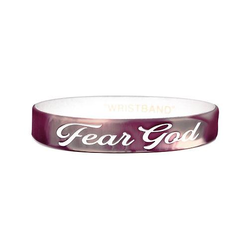 WRISTBAND - Fear God - MAUVE/CREAM/WHT