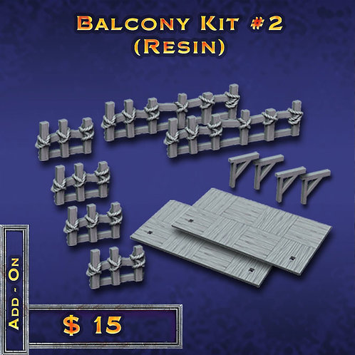 Balcony Kit #2 - Resin