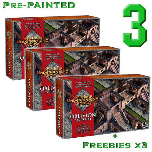 3 x OBLIVION Pre Painted