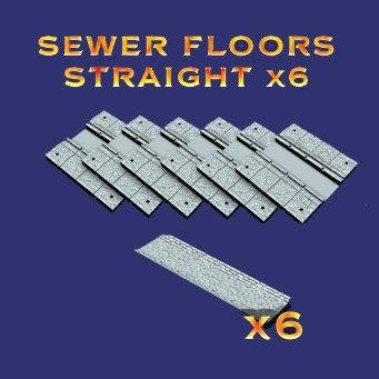 Sewer Floors Straight x 6