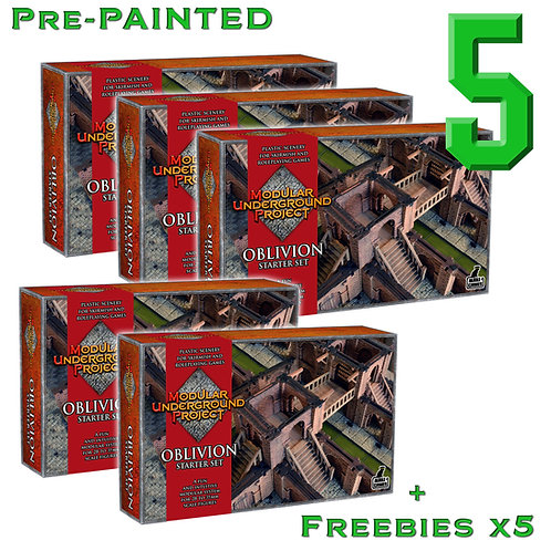 5 x OBLIVION Pre Painted