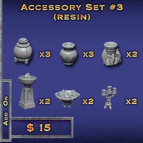 Accessory Set #3 - Resin