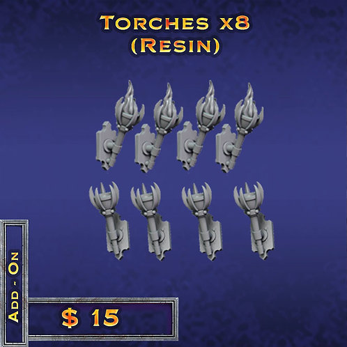 Torches X8 - Resin