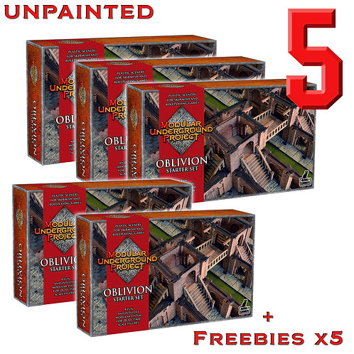 5 x OBLIVION Unpainted