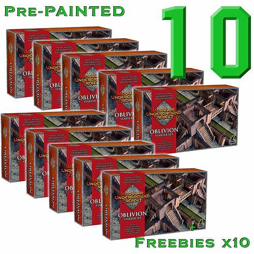 10 x OBLIVION Pre Painted
