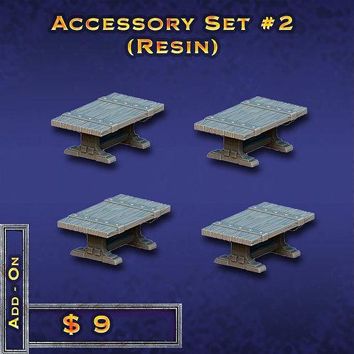 Accessory Set #2 - Resin