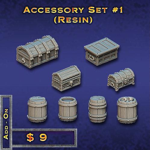 Accessory Set #1 - Resin