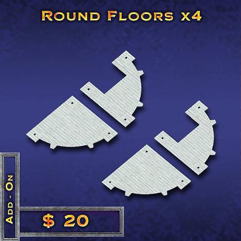 Round Floors x 4