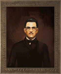 Portrait of Jack Cabot.