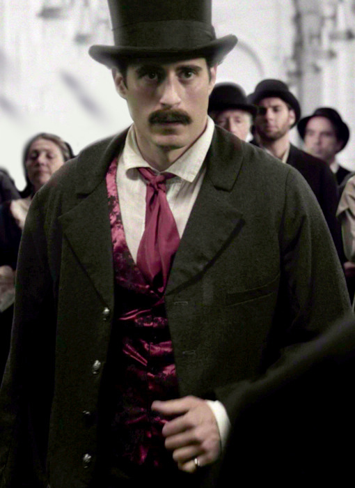 As John Wilkes Booth.