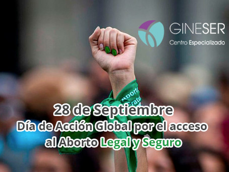 28 de Septiembre, Día de Acción Global por una Interrupción de Embarazo Legal y Segura
