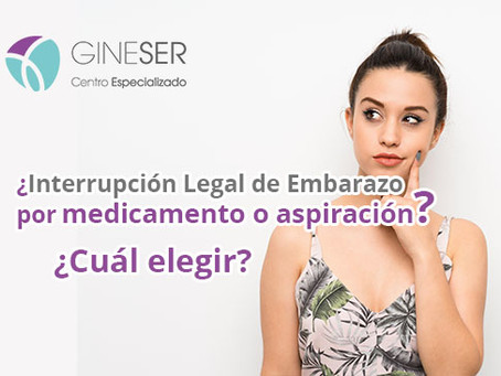¿Qué método de interrupción legal del embarazo (ILE) elegir?
