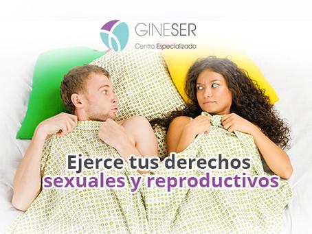¿Qué son los derechos sexuales y reproductivos?