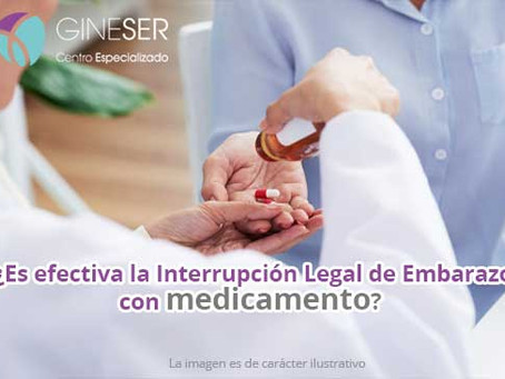 ¿Es efectiva la Interrupción Legal de Embarazo por medicamento?