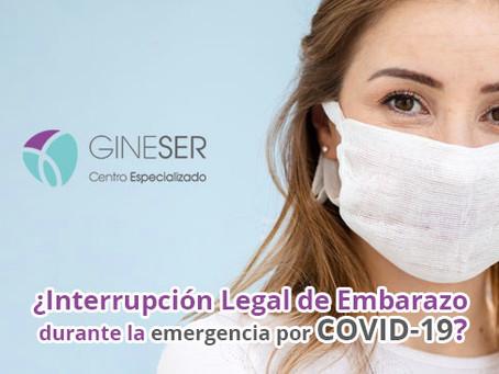 ¿Se puede realizar una Interrupción Legal de Embarazo durante la emergencia por COVID-19?