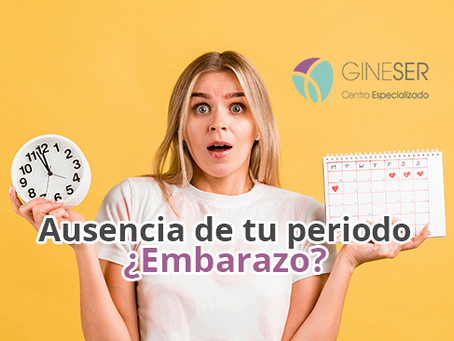 Ausencia de tu periodo menstrual ¿Embarazo?
